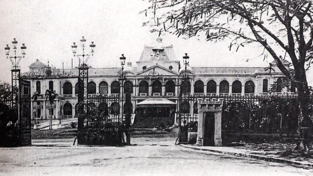 The original Norodom Palace, Saigon