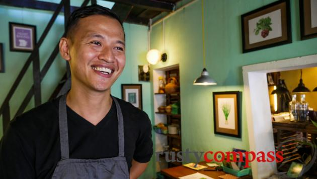 Phuc, the man behind Nu Eatery