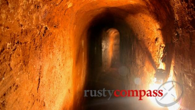 The enlarged Long Phuoc Tunnels.