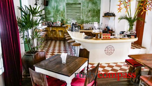 Our place in Saigon - The Old Compass Cafe