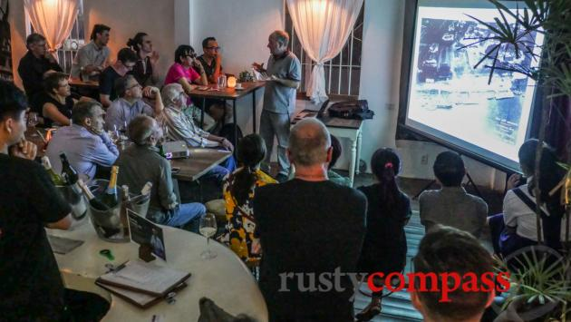Khmer architecture talk - Old Compass Cafe