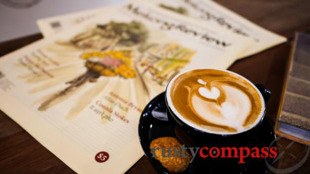 Don't miss Saigon's coffee scene - The Old Compass Cafe