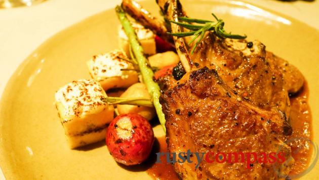 Lamb chops, Olive Restaurant, Siem Reap