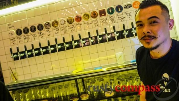 Ong Cao craft beer, Saigon
