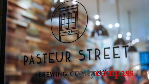 The tap room - Pasteur St Brewery, Saigon