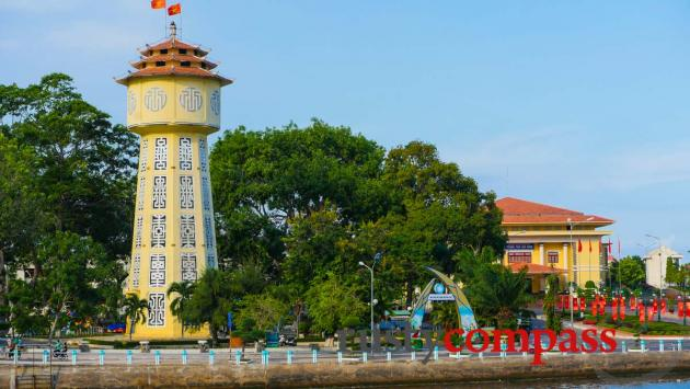 Phan Thiet's historic water tower.