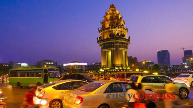 Vann Molyvann's Independence Monument, Phnom Penh