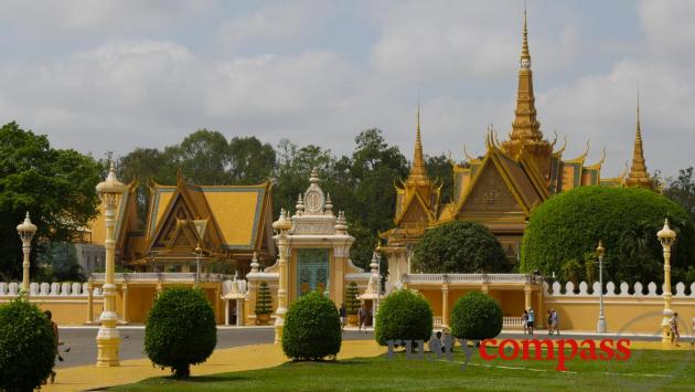 The 1866 Royal Palace, Phnom Penh