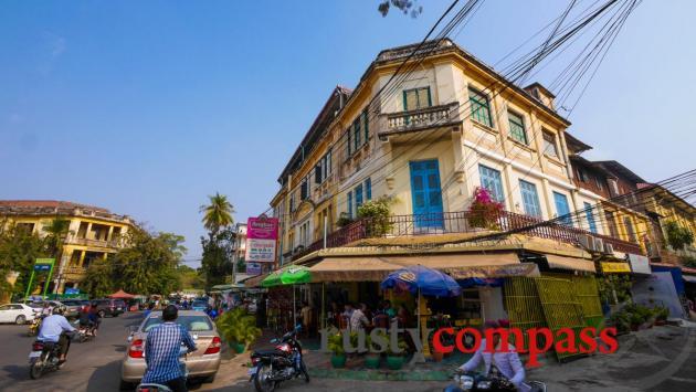 Colonial architecture, Phnom Penh