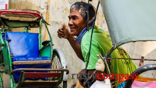 Cyclo driver, Phnom Penh