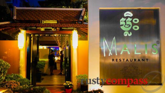 Upscale Khmer dining at Malis Restaurant, Phnom Penh