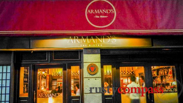 Armand's French bistro in Phnom Penh.