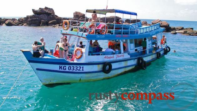 Snorkelling trip from Phu Quoc Island