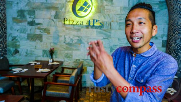 Masuko, the man behind Pizza 4Ps, Saigon