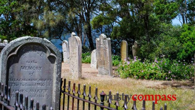 Isle of the Dead, Port Arthur.  Many convicts didn't get headstones.