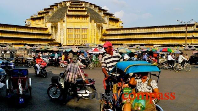 Psar Thmei grand market Phnom Penh