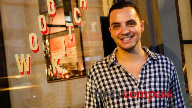 Dominik runs the show - Quince Saigon