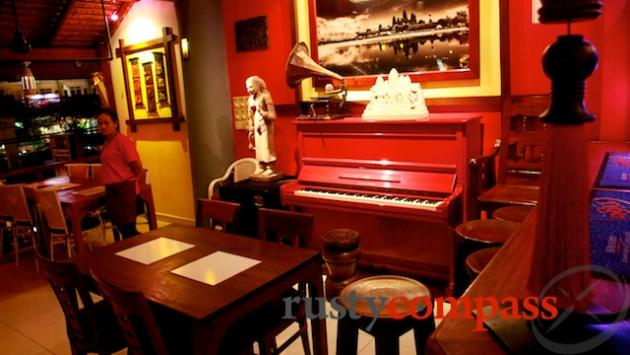 Red Piano Restaurant, Siem Reap
