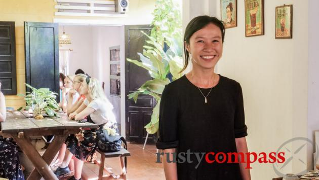 Thuy from Rosie's Cafe, Hoi An