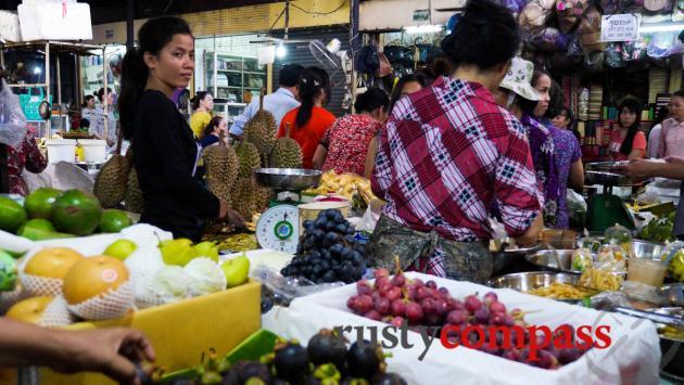 Food stall, Russian Market, Phnom Penh