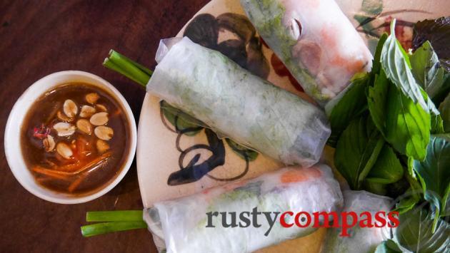 Fresh spring rolls -