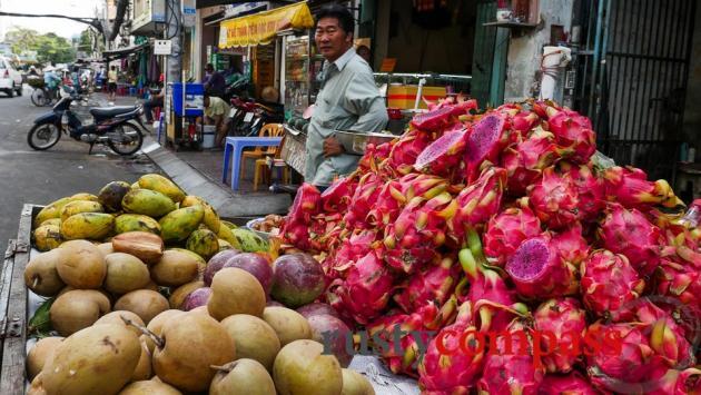 Don't miss out on Saigon's wonderful fresh tropical fruit.