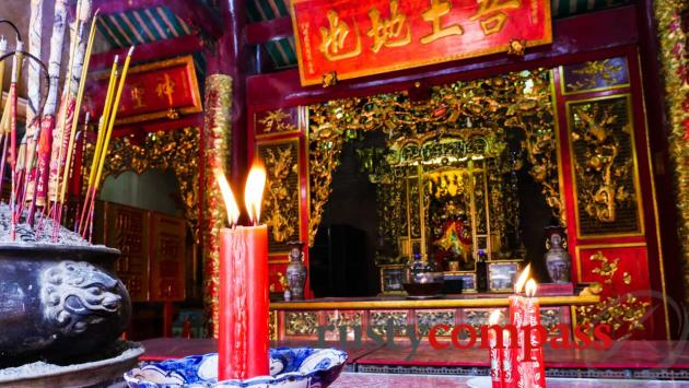 Chinese temple, Saigon