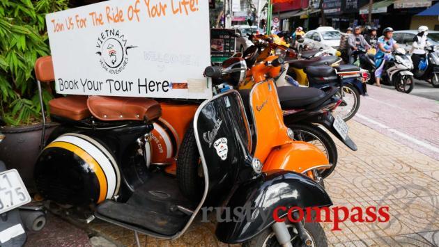 Saigon Vespa tours start here.