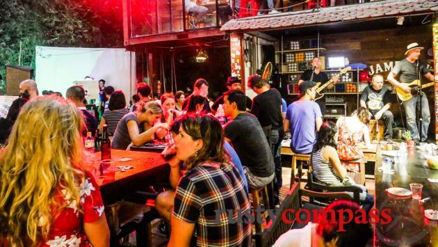 Big night at Saigon Outcast