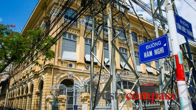 The old Customs building - Saigon River