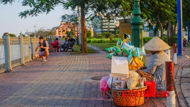 Saigon river walk