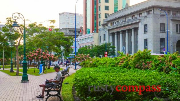 The old banking district, Saigon