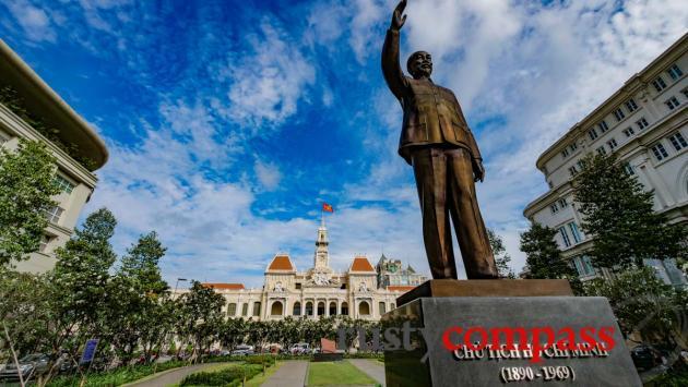 Uncle Ho - Nguyen Hue St, Saigon