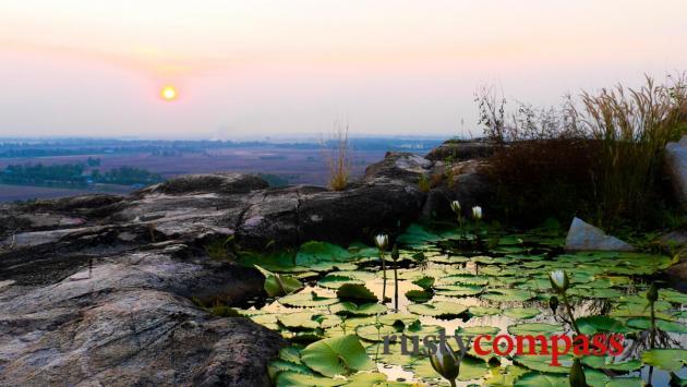 Sunset - Sam Mountain, Chau Doc