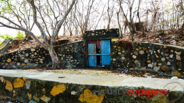 An old military bunker, Sam Mountain, Chau Doc