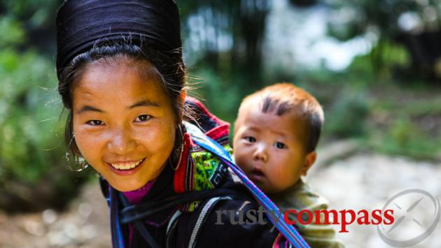 The mountains and ethnic minority cultures around Sapa.