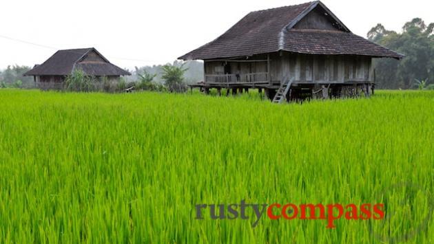 Thai minority village outside of Dien Bien Phu
