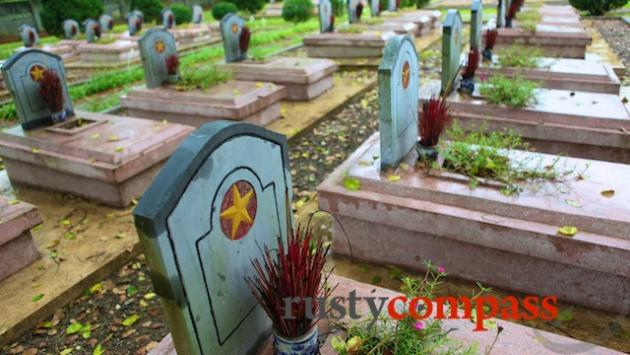Cemetery Dien Bien Phu