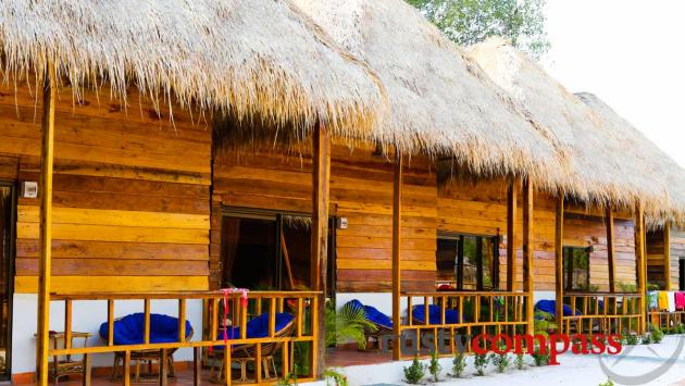 Otres Lodge bungalows, Otres Beach, Sihanoukville
