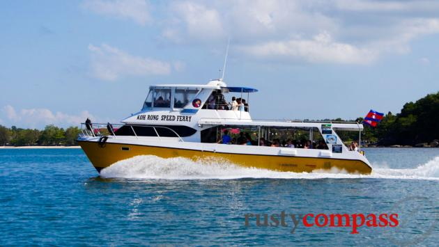 These fast boats that commenced operating in early 2014, are transforming Koh Rong and Koh Rong Samloen.