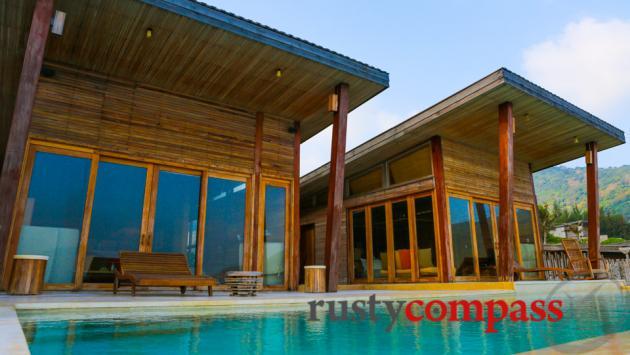 Ocean Front 2 bedroom pool villa.