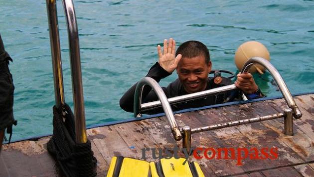 Diving, Nha Trang