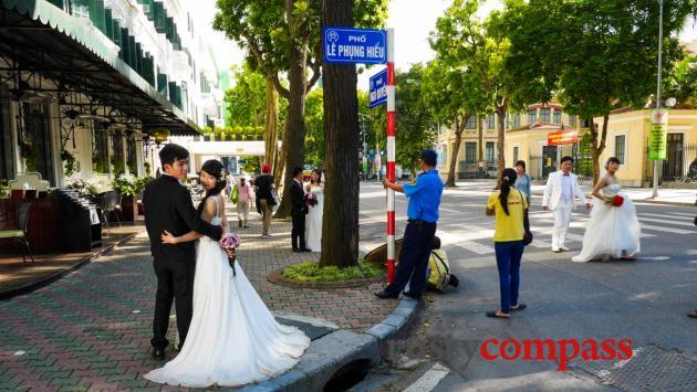 Wedding season - Sofitel Metropole, Hanoi