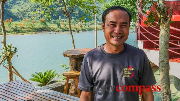 Ho Khanh - the man who discovered the world's biggest cave.