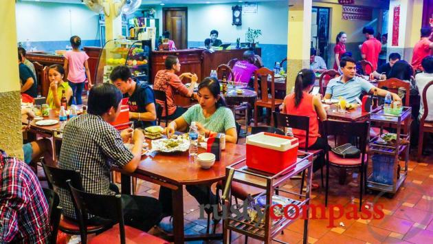 Sovanna BBQ restaurant, Phnom Penh
