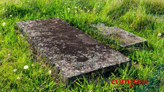 The oldest colonial grave in Australia from 1791 - St John's Cemetery, Parramatta