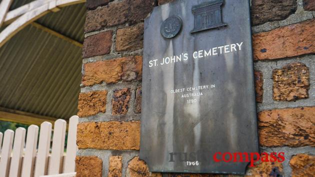 St John's Cemetery, Parramatta