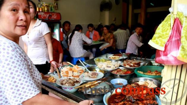 Lunchtime in Hanoi