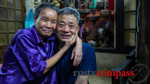 The people were the highlight of my street food tour - especially this couple.