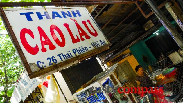 Cao Lau - Hoi An's delicicious local specialty